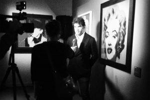 Curatela: Matteo Bellenghi intervistato in occasione della mostra di Andy Warhol
