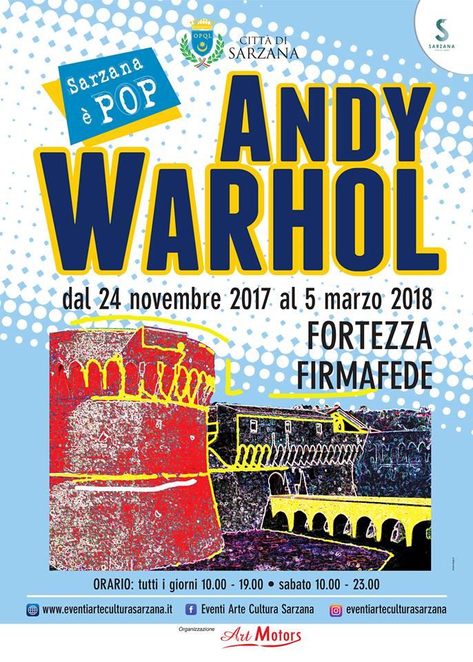 Andy Warhol mostra Sarzana