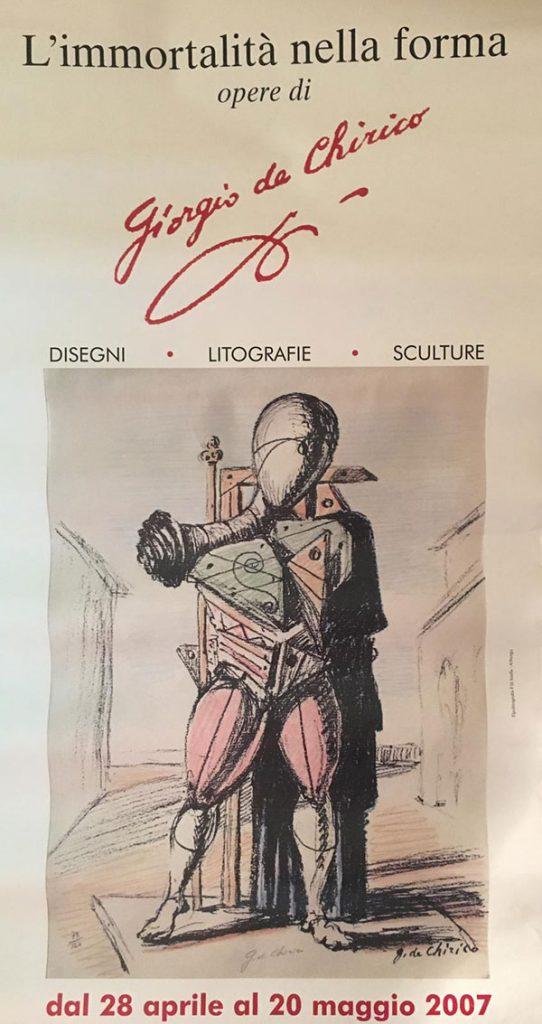 Giorgio De Chirico: L'immortalità della forma - Alassio