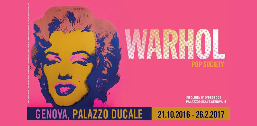 Mostra Andy Warhol Pop Society Genova