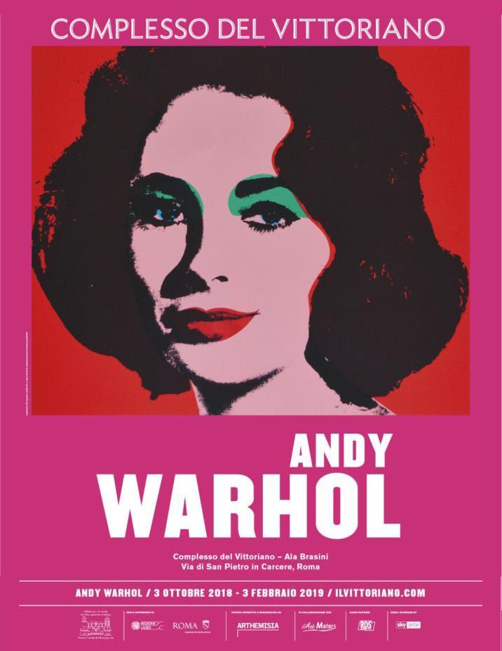 Mostra Andy Warhol -Complesso del Vittoriano, Roma